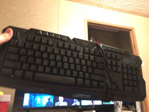 Gaming keyboard $50 for Sale in Reedsville, WV
