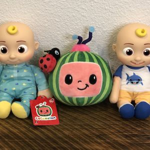 🔥NEW CoComelon Baby JJ, Toddler JJ, & Melon 8 Inch Plush Set for Sale in Los Angeles, CA