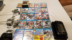 Nintendo Wii u with 21 games for Sale in New Lexington, OH