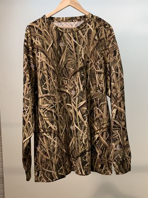 Mack's Prairie Wings Camo long sleeve shirt for Sale in Painesville, OH