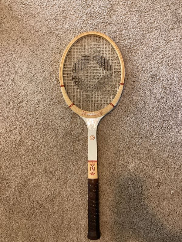 Spalding Tracy Austin Signature Vintage Wooden Tennis Racket