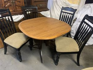 Table with six chairs for Sale in Freedom, PA