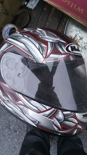 HJC motorcycle helmet Barbwire cl-sp for Sale in Wexford, PA