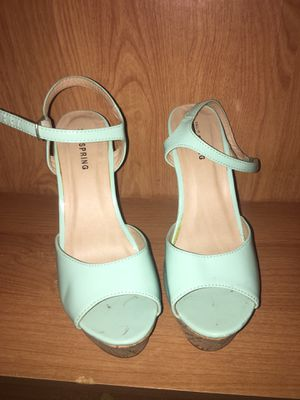 Teal wedges for Sale in Miami, FL
