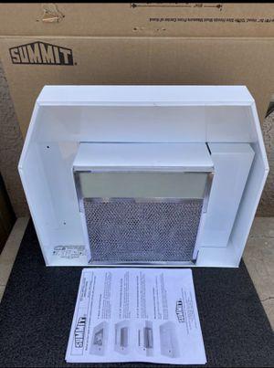 Summit Appliance 20 in. Non-Vented Range Hood in White for Sale in Phoenix, AZ