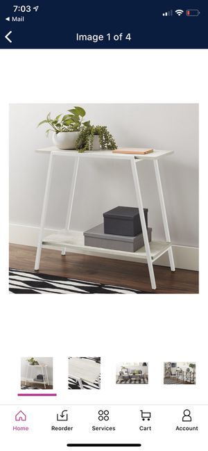 Mainstays Console Table for Sale in Fresno, CA