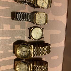 5 Men's Vintage Armitron Watches for Sale in Calumet City, IL