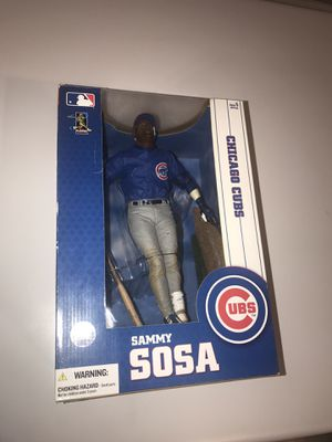 Sammy Sosa 12 inch Action Figure for Sale in Chicago, IL