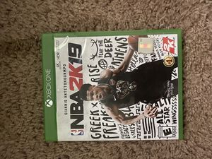 XBOX ONE NBA 2K19 for Sale in Beaufort, SC