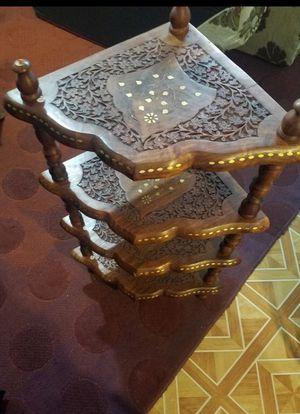 Beautiful stackable Corner shelfs 4 inches high - 4 pieces for Sale in Farmington Hills, MI