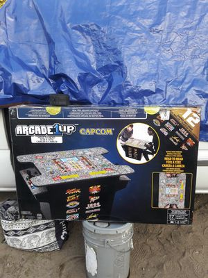 arcade 1 up street fighter capcom LCD arcade game for Sale in DEVORE HGHTS, CA