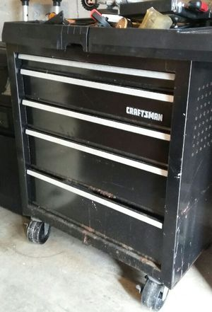 Caja de Herramientas Craftsman Tool Box Chests with power outlets for Sale in Hialeah, FL