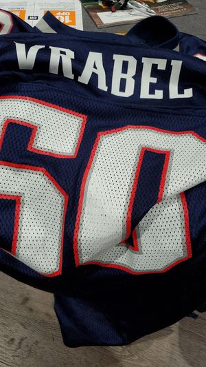 Mike Vrabel Patriots Jersey Authentic for Sale in Norwood, MA