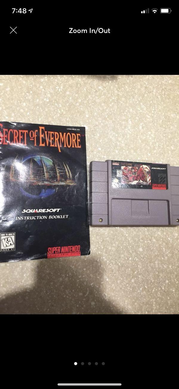 Secret of Evermore for Super Nintendo (SNES)