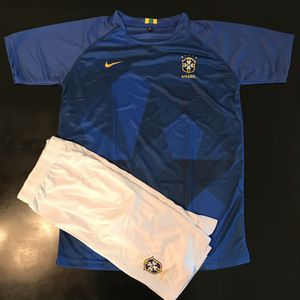 NEW! Brazil Jersey & shorts. All size MEDIUM. for Sale in Minneapolis, MN