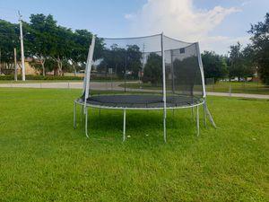 12' trampoline for Sale in Davie, FL