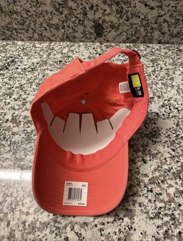 Pink Nike hat