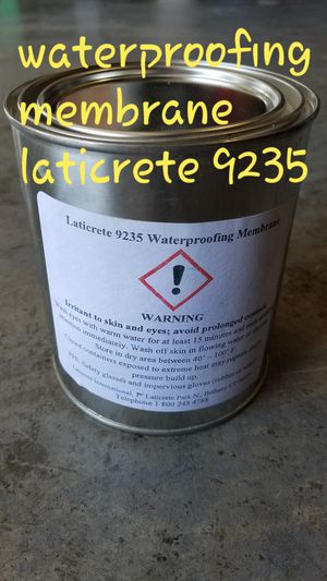 Laticrete 9235 Waterproofing membrane. Before Tileing. for Sale in Tacoma, WA