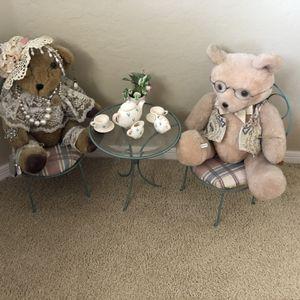 Teddy Bear Tea Set for Sale in Gilbert, AZ