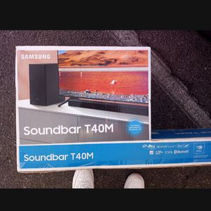 Samsung T40 M Sound Bar And Bass Surrohmd Sound And Bluetooth Speaker for Sale in Spring Valley, CA