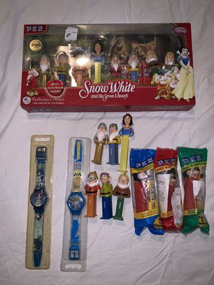 Vintage Disney pez collectibles & 2 Disney watches Taking offers no trades for Sale in Anaheim, CA