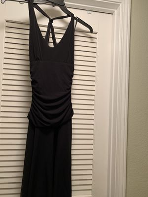 Cute little black dress. Soft material. Size small. Halter style back. for Sale in Riverside, CA