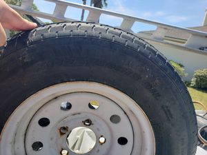 """Used camper / trailer 13""""Tire 175/80/13 for Sale in Saint AUG BEACH, FL"""