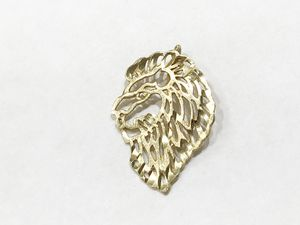 14K Yellow Gold Woman's Lion Head Charm $44.99 for Sale in Tampa, FL