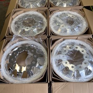 """22""""x8.25"""" American Force Independence Dually Polished Wheels 10x285 for Sale in Mukilteo, WA"""
