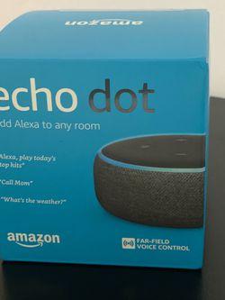 Echo Dot 3rd generation Smart Speaker for Sale in Greensboro,  NC