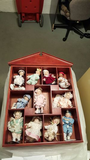 Antique porcelain collection baby dolls!! for Sale in Tukwila, WA