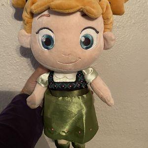 Anna Plush Doll for Sale in Pasadena, TX