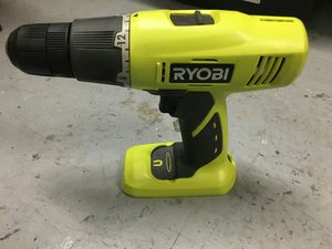 Ryobi 18 Volt Cordless 1/2 in. Compact Drill Driver (Tool Only) for Sale in Mesa, AZ