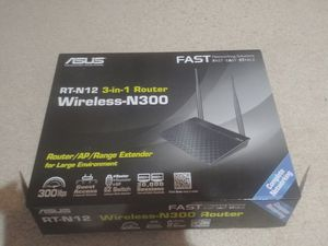 Asus RT-N12 N300 Router for Sale in Richardson, TX