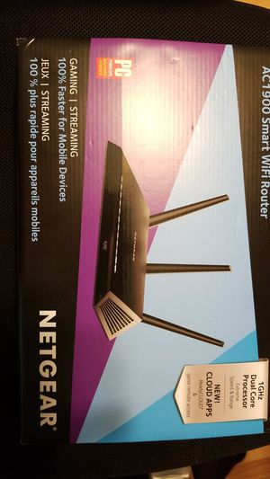 Netgear router Gaming Syreaming for Sale in Homestead, FL