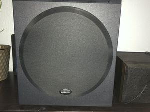 Polk audio speakers and bass for Sale in Houston, TX