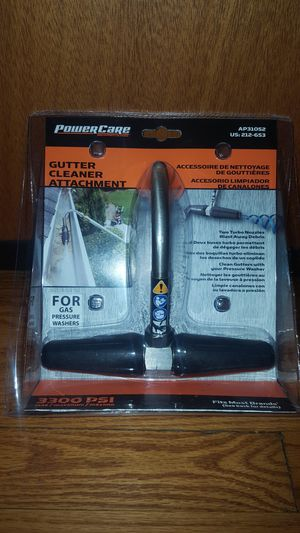 Power Care 3,300 PSI Gutter-Cleaner Attachment for Gas Pressure Washers for Sale in Chicago, IL