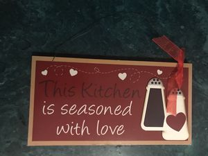Wooden kitchen decor sign for Sale in Memphis, TN