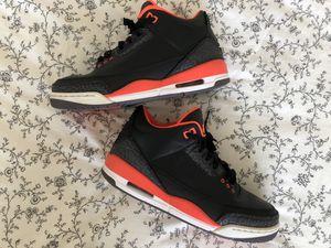 Air Jordan 3 Retro 'Crimson' for Sale in Los Angeles, CA