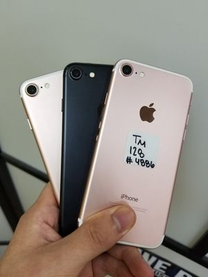 IPHONE 7 128GB FOR TMOBILE & METRO OR AT&T & CRICKET for Sale in Garland, TX