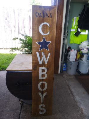 Rustic cowboy sign for Sale in Mesquite, TX