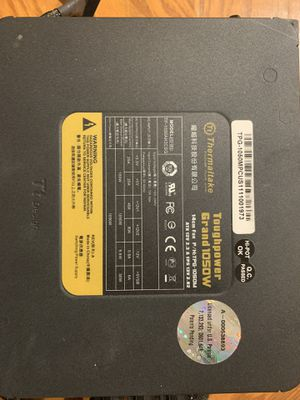 Thermaltake Toughpower Grand 1050W for Sale in Fort Worth, TX