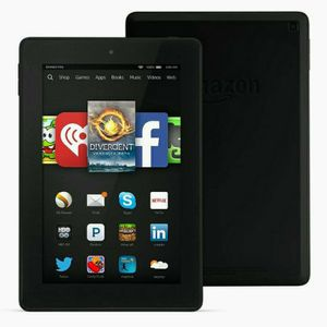 Amazon Kindle Fire HD 7inch 8GB 4th Generation White for Sale in Mulvane, KS