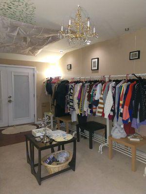 Ladies clothing sweaters, pants, jackets, shirts for Sale in Burlington, NJ