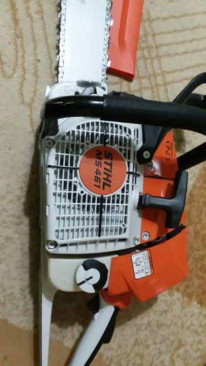 stihl chainsaw MS461 barra 30 pulgadas/75cm. for Sale in Pasadena, TX
