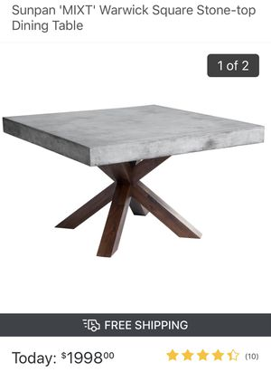 Stone top dining table for Sale in Fort Washington, MD