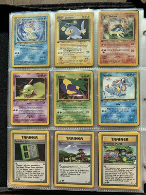 Pokemon 1st Edition Neo Genesis Set (9) Cards for Sale in Orlando, FL