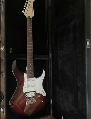 Yamaha Pacifica Electric Guitar, Case, And Accessories for Sale in Los Angeles, CA