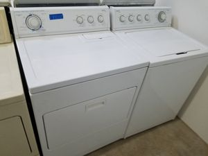KIRKLAND WASHER AND ELECTRIC DRYER SET for Sale in Modesto, CA