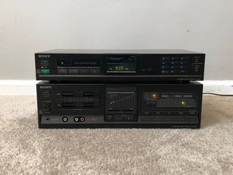 Sony TA-AX530 Home Stereo Integrated Amplifier + ST-JX430 Radio Tuner Receiver for Sale in Mount Prospect,  IL
